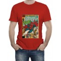 MARVEL COMICS - T-SHIRT UOMO SPIDER-MAN COVER XL