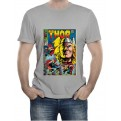 MARVEL COMICS - T-SHIRT UOMO THOR COVER XL