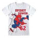 MARVEL COMICS SPIDER-MAN - T-SHIRT - SPIDEY POWER 7-8 YEARS