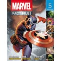MARVEL FACT FILES 5 (contiene 7/8)