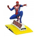 MARVEL GALLERY - PS4 VIDEOGAME - SPIDER-MAN ON TAXI - STATUA 23CM