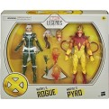 MARVEL LEGENDS DELUXE - 2-PACK - PYRO & ROGUE - ACTION FIGURE 15CM