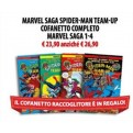 MARVEL SAGA SPIDER-MAN TEAM-UP COFANETTO COMPLETO - MARVEL SAGA 1-4