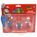 MFGNIN007 - SUPER MARIO - PACK 3 MINI FIGURE