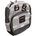 MINECRAFT - BACKPACK - BLACK MINI GREY (BACK PACK) ONE SIZE