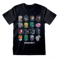 MINECRAFT - T-SHIRT - MINI MOB 14-15 YEARS