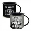 MUGBPB01 - PEAKY BLINDERS - MUG HEAT CHANGE (400ML) - BY ORDER OF THE PEAKY BLINDERS
