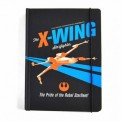 NBA5SW07 - STAR WARS - A5 NOTEBOOK - STAR WARS (X WING ICON)
