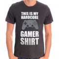 NERD - TS031 - T-SHIRT MY GAMER SHIRT L