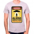 NERD - TS033 - T-SHIRT ALIENS ABDUCTION XL