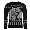 NIGHTMARE BEFORE CHRISTMAS - KNITTED JUMPER - SERIOUSLY SPOOKY M