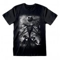 NIGHTMARE BEFORE CHRISTMAS - T-SHIRT - STORMY SKIES XL