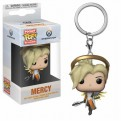 OVERWATCH SERIES 4 - POP FUNKO VINYL KEYCHAIN MERCY 4CM