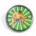 PBADCC03 - STREET FIGHTER - ENAMEL PIN BADGE (HEADER) - CAPCOM (E HONDA)