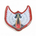 PBADWR02 - WARHAMMER - ENAMEL BADGE (HEADER) - WARHAMMER (BLOOD ANGELS)