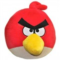 PELCWT006 - ANGRY BIRDS - PELUCHE 40CM ROSSO