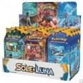 POKEMON - BOX 12 MAZZI - SOLE E LUNA