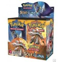 POKEMON - BOX 36 BUSTE - SOLE E LUNA