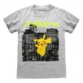POKEMON - T-SHIRT - PIKACHU NEON 9-10 YEARS