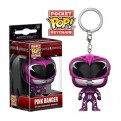 POWER RANGERS MOVIE - POP FUNKO VINYL KEYCHAIN PINK RANGER 4 CM