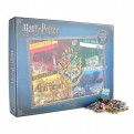 PUZZHP07 - HARRY POTTER - JIGSAW PUZZLE 500 PIECES - HARRY POTTER (HOUSES)