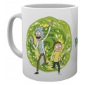 RICK AND MORTY - MU001 - TAZZA RICK AND MORTY PORTAL