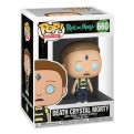 RICK AND MORTY - POP FUNKO VINYL FIGURE 660 DEATH CRYSTAL MORTY 9CM