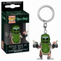 RICK AND MORTY - POP FUNKO VINYL KEYCHAIN PICKLE RICK IN RAT SUITE 4CM