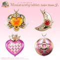 SAILOR MOON - MINIATURELY TABLET V.3 - ESPOSITORE 10 PEZZI