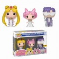 SAILOR MOON - POP FUNKO VINYL FIGURE 3PACK QUEEN SERENITY, SMALL LADY, KING ENDYMION EXCLUSIVE
