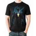 SHAZAM MOVIE - T-SHIRT - HEROIC TEXT - L