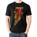 SHAZAM MOVIE - T-SHIRT - LIGHTNING SILHOUETTE - S