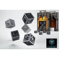 SMDW35 - SET 5 DADI D6 IN METALLO - DWARVEN - 55191