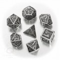 SMDW35 - SET 7 DADI IN METALLO DWARVEN - 55196