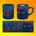 SMMU02 - TAZZA SPIDERMAN GRAFFITI