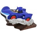 SONIC - TEAM SONIC RACING GALLERY - PVC DIORAMA 25CM