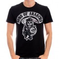 SONS OF ANARCHY - TS014 - T-SHIRT DEATH REAPPER PATCH M