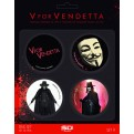 SPILLE - V FOR VENDETTA - SET B (4 PZ)