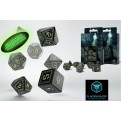 SRUN19 - SET 7 DADI RUNIC GLOW IN THE DARK - 55089