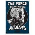 SSA5SW06 - STAR WARS - TIN SIGN SMALL - STAR WARS (THE FORCE)