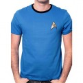 STAR TREK - TS1201 - T-SHIRT UNIFORM BLUE S