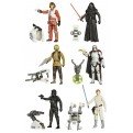 STAR WARS - ACTION FIGURE 10 CM JUNGLE/SPACE WAVE 1 (12 PEZZI)