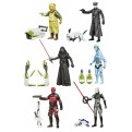 STAR WARS - ACTION FIGURE 10 CM JUNGLE/SPACE WAVE 2 (12 PEZZI)