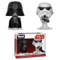 STAR WARS - FUNKO VYNL 2PACK DARTH VADER & STORMTROOPER 10CM