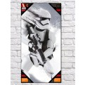 STAR WARS - GLASS POSTER (30X60CM) - STORMTROOPER SNOW