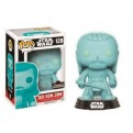 STAR WARS - POP FUNKO VINYL FIGURE 128 CELEBRATION 2017 - HOLOGRAPHIC QUI-GON JINN 9CM