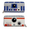 STAR WARS - PORTAFOGLIO DOUBLE SIDED - R2D2 & BB8