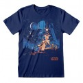 STAR WARS - T-SHIRT - NEW HOPE VINTAGE POSTER S