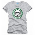 STAR WARS - TS009 - T-SHIRT STORMTROOPER COFFEE XL