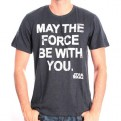 STAR WARS - TS044 - T-SHIRT MAY THE FORCE STAR WARS S